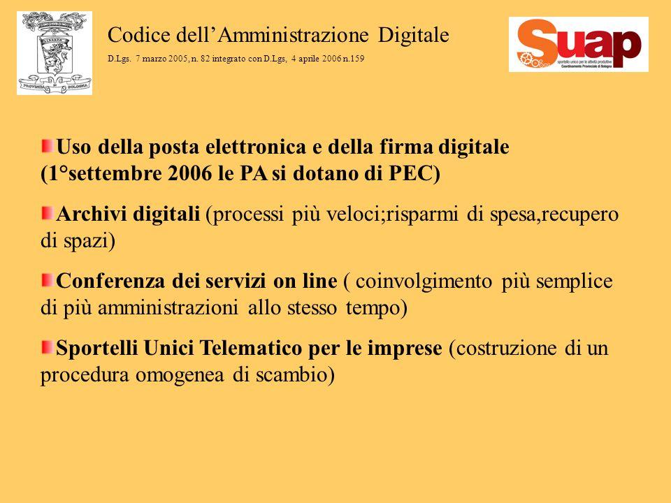 Codice dellAmministrazione Digitale D.Lgs. 7 marzo 2005, n.
