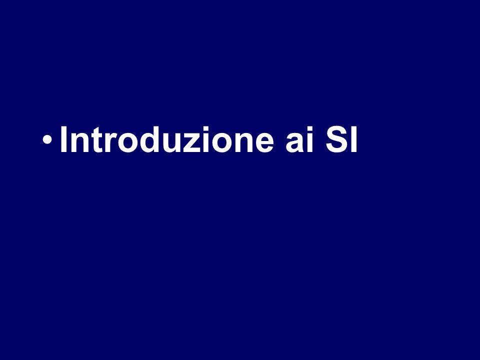 Introduzione ai SI