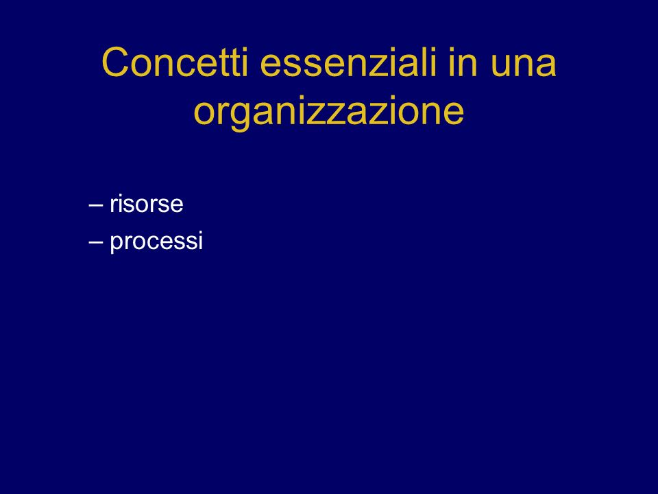 Sosta 3 – lezione 1 Qual e la differenza tra efficacia e efficienza.