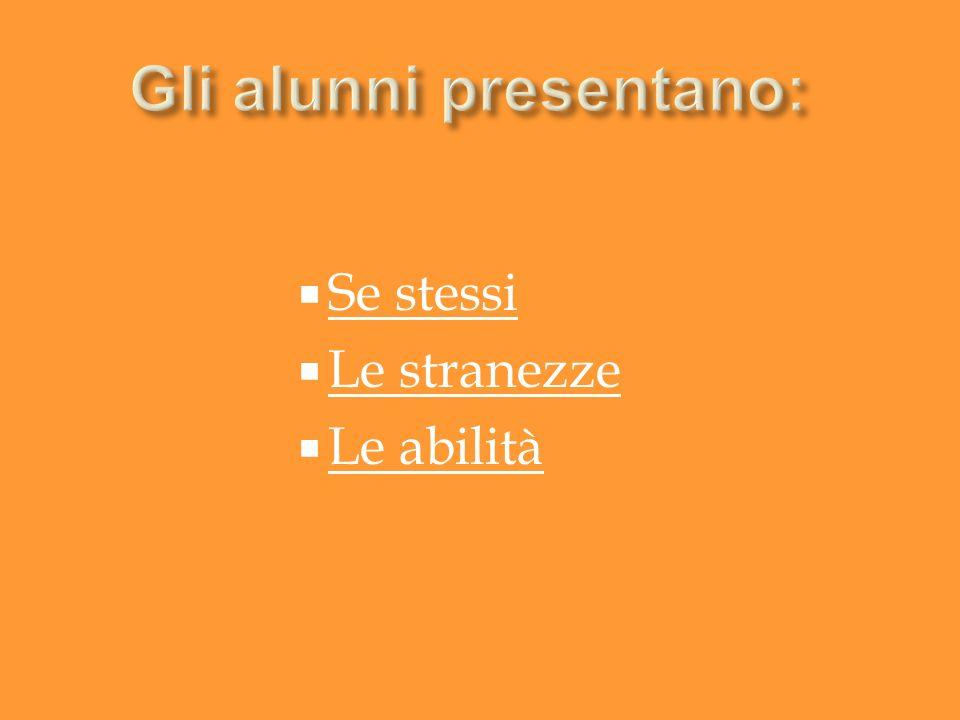 Io sono… Io sono Manuel … la mia materia preferita è italiano.