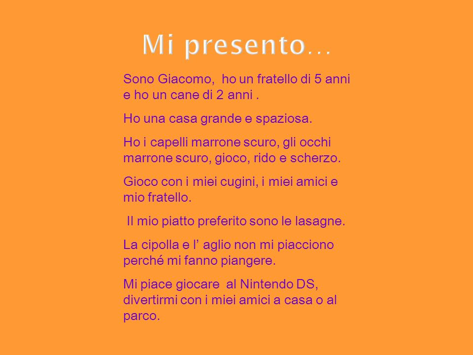 Ci sono anchio!!!.Mi presento: sono Francesco.