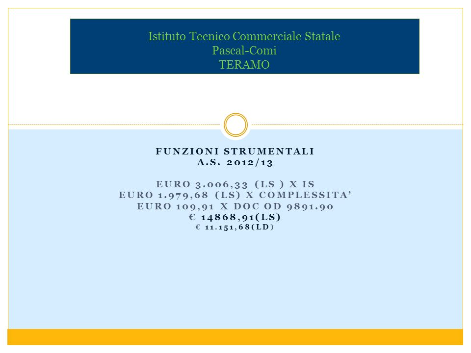 ATTIVITÀ COMPLEMENTARI DI EF A.S.2012/13 INTESA MIUR 2010 ART.