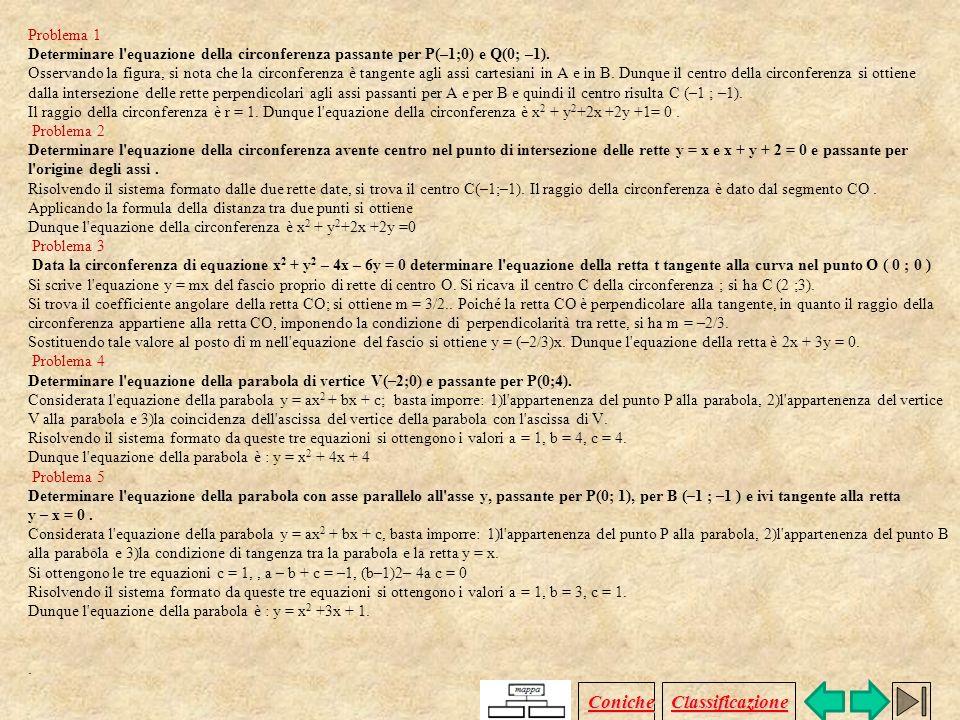 I1) Come riconoscere se una equazione canonica è quella di uniperbole? I coefficienti dei termini di secondo grado della x e della y devono essere dis