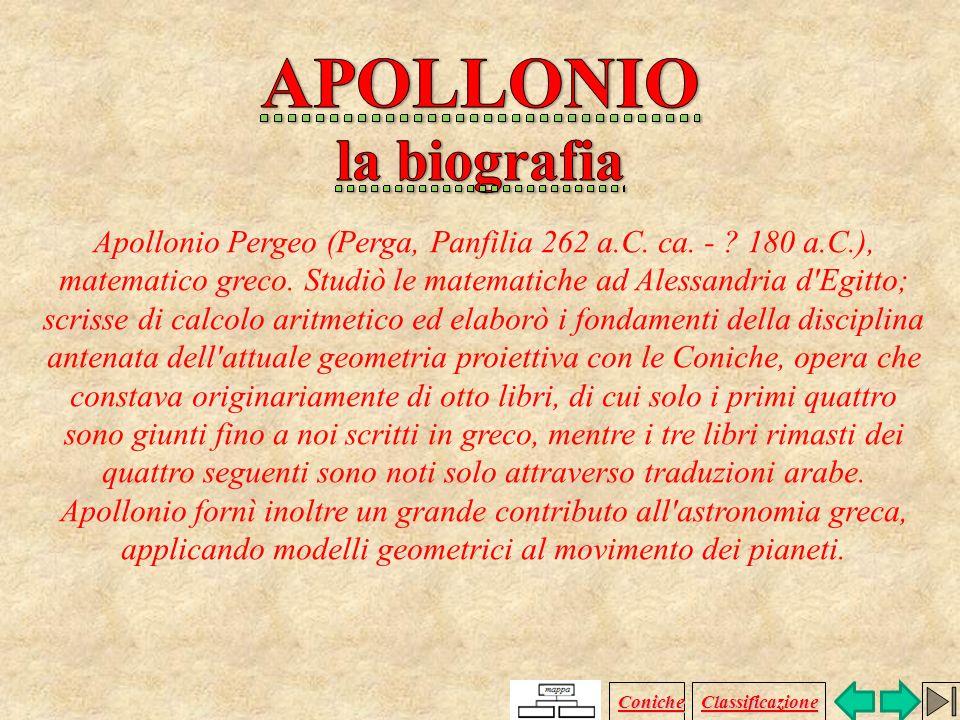 Apollonio Pergeo (Perga, Panfilia 262 a.C.ca. - .