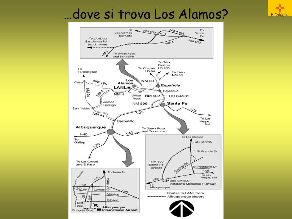 …dove si trova Los Alamos? F.Calgaro