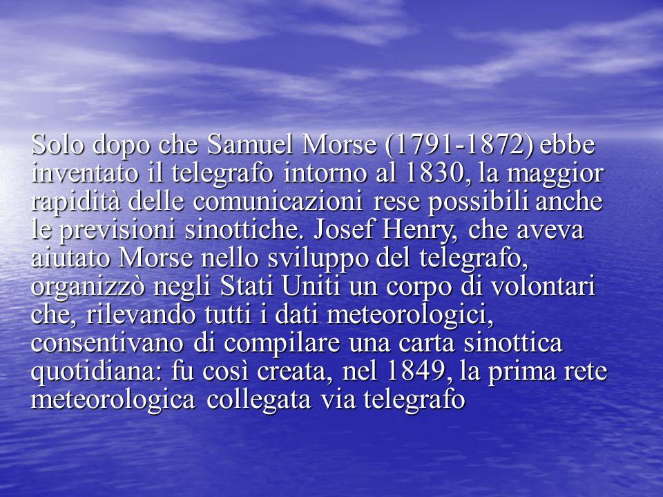 Solo dopo che Samuel Morse (1791-1872) ebbe inventato il telegrafo intorno al 1830, la maggior rapidità delle comunicazioni rese possibili anche le pr