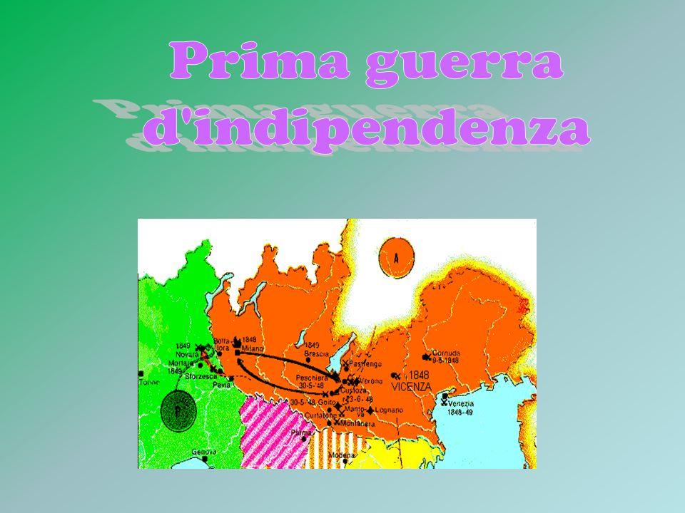 QUANDO: 1848 DOVE: Milano, Brescia, Venezia, Parma, Roma, Modena.