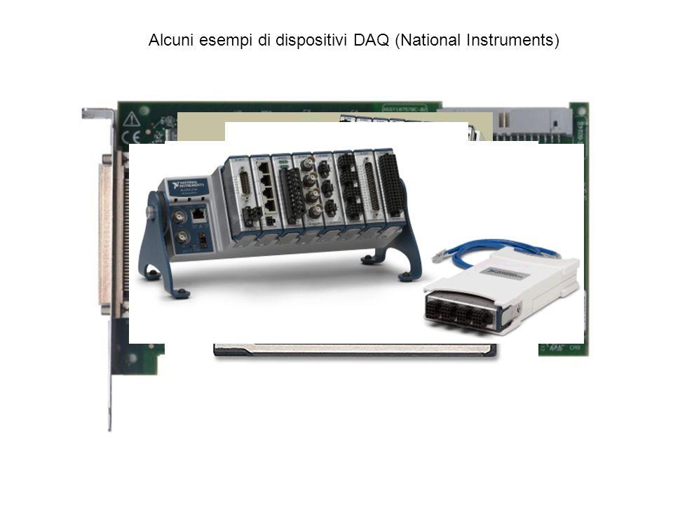 Alcuni esempi di dispositivi DAQ (National Instruments)