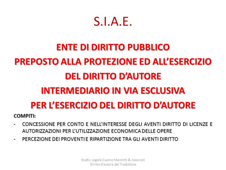 S.I.A.E.