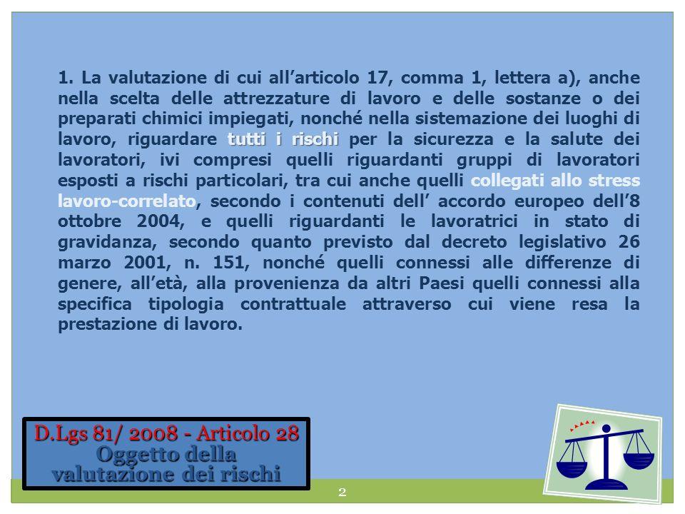 Laccordo Europeo del 2004 Accordo volontario europeo tra le parti sociali sul tema dello stress lavoro-correlato Art.