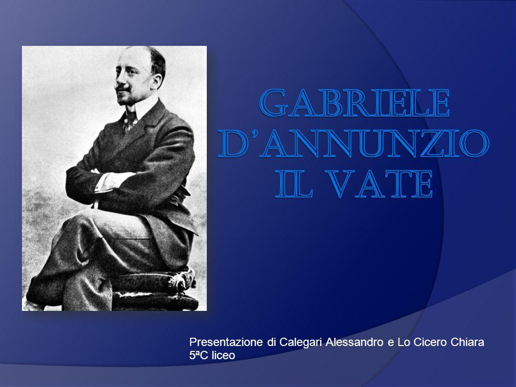 Presentazione di Calegari Alessandro e Lo Cicero Chiara 5ªC liceo