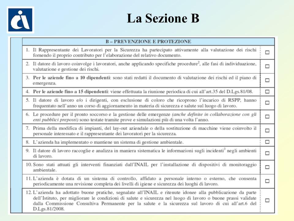 Pagina 30 La Sezione B