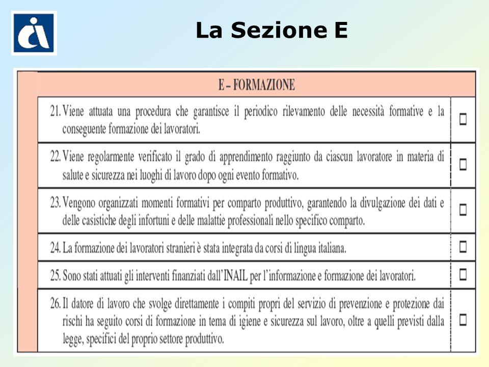 Pagina 32 La Sezione E