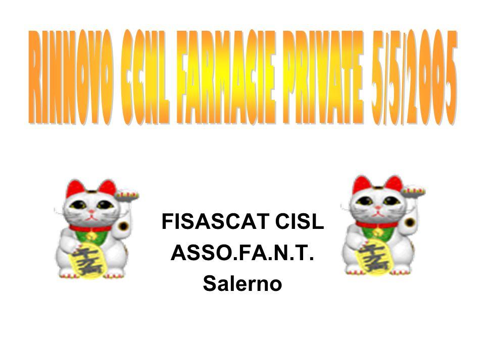 FISASCAT CISL ASSO.FA.N.T. Salerno