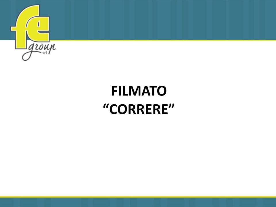FILMATO CORRERE