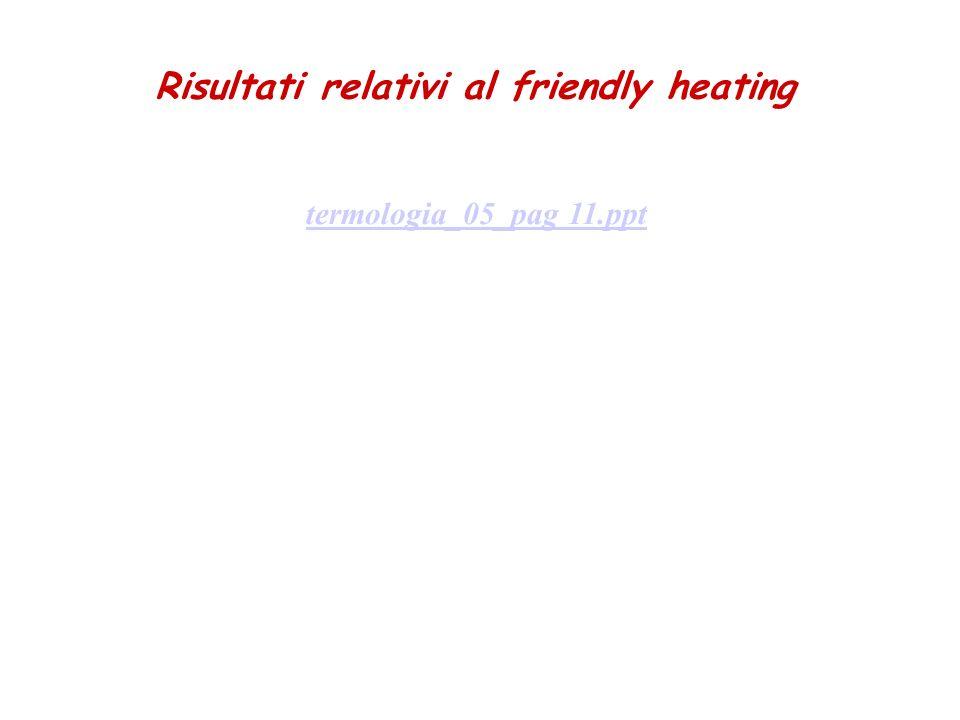 Trasmissione del Calore Conduzione trasmissione di energia per azione molecolare T c > T f A s Q Coefficiente di conducibiltà termica Cofficiente di conducibilità termica (k) Materiale kcal/(m s ºC) J/(m s ºC) Aria 5.5010 -6 2.3010 -2 Calcestruzzo3.1010 -4 1.30 Ferro2.1010 -2 8.7910 1 Lana di vetro9.9010 -6 4.1410 -2 Malta1.1210 -4 4.6910 -1 Mattone1.5510 -4 6.4910 -1 Quercia3.5110 -5 1.4710 -1 Pann.