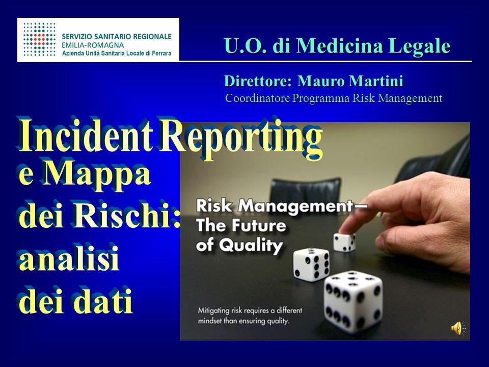 U.O. di Medicina Legale U.O. di Medicina Legale Direttore: Mauro Martini Direttore: Mauro Martini Coordinatore Programma Risk Management Coordinatore