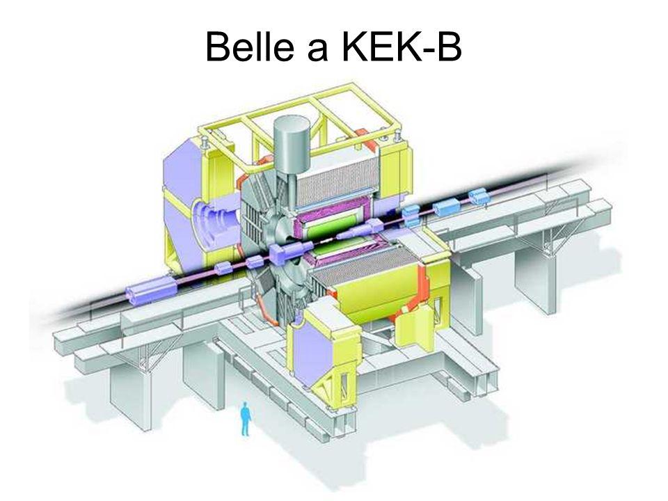 Belle a KEK-B