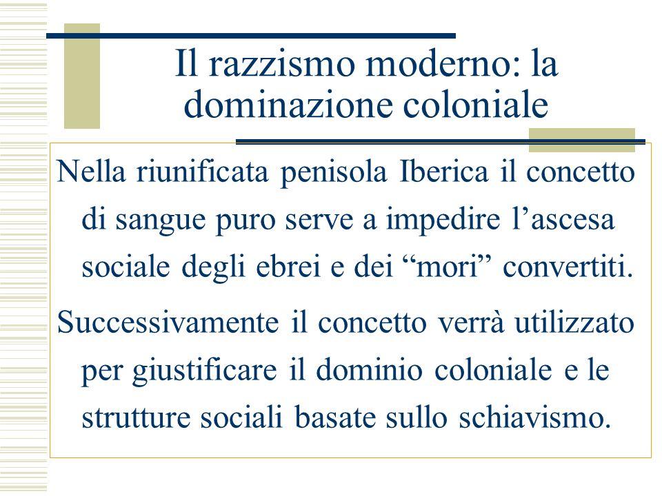 Il razzismo scientifico in Italia Superamento della divisione razziale degli italiani sotto il fascismo tramite linvenzione dellitalianismo spirituale (identità storico- culturale collegata alla storia dellantica Roma).