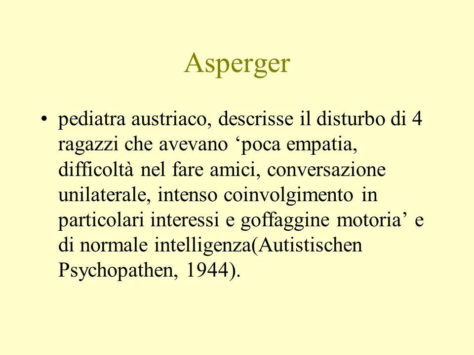 Valutazione clinica Valutare comprensione del linguaggio per: agnosia verbale, sindrome da deficit programmaz.