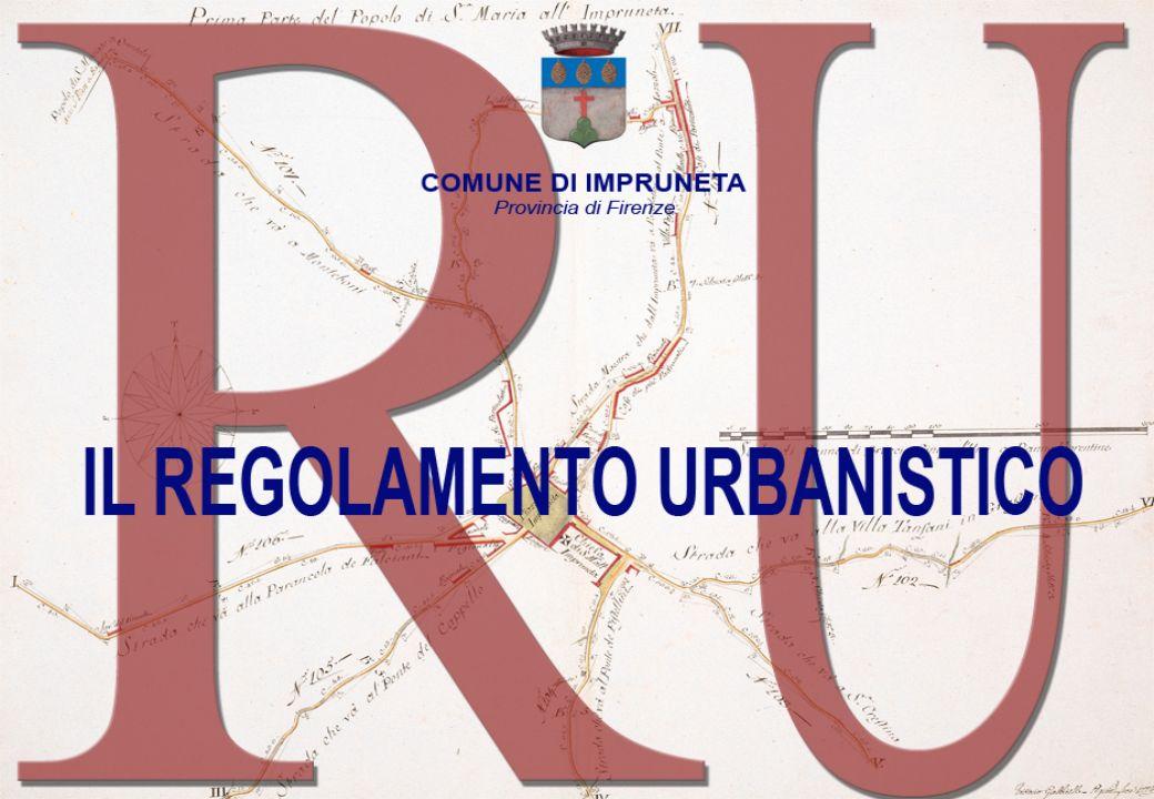 COMUNE DI IMPRUNETA Provincia di Firenze Obiettivi del RU Come si rileva dagli obiettivi per la redazione del Regolamento urbanistico approvati dalla G.C (Direttiva 213 del 22\12\2009) a seguito del percorso partecipativo conclusosi a ottobre 2009, gli interventi di pianificazione dovevano essere voltiCome si rileva dagli obiettivi per la redazione del Regolamento urbanistico approvati dalla G.C (Direttiva 213 del 22\12\2009) a seguito del percorso partecipativo conclusosi a ottobre 2009, gli interventi di pianificazione dovevano essere volti a risolvere le criticità presenti nel territorio, soprattutto nei centri abitati, in modo che le nuove trasformazioni potessero portare miglioramenti nelle infrastrutture e nei servizi, alzando il livello della qualità della vita anche per i cittadini già residenti;a risolvere le criticità presenti nel territorio, soprattutto nei centri abitati, in modo che le nuove trasformazioni potessero portare miglioramenti nelle infrastrutture e nei servizi, alzando il livello della qualità della vita anche per i cittadini già residenti; a favorire la sostenibilità ambientale,non solo tramite vincoli, divieti, norme e prescrizioni sulla conservazione degli ambienti naturali, della flora, della fauna,, ma anche favorendo la realizzazione di impianti per la produzione di energie pulite e sistemi di risparmio di energia e di risorse;a favorire la sostenibilità ambientale,non solo tramite vincoli, divieti, norme e prescrizioni sulla conservazione degli ambienti naturali, della flora, della fauna,, ma anche favorendo la realizzazione di impianti per la produzione di energie pulite e sistemi di risparmio di energia e di risorse; a realizzare la sostenibilità sociale attraverso il reperimento di quote di edilizia sociale per risolvere le problematiche delle giovani coppie e degli anziani; attraverso la possibilità di realizzare servizi di interesse pubblico; attraverso il sostegno anche urbanistico alle Associazioni, Rioni ma non solo, per trova