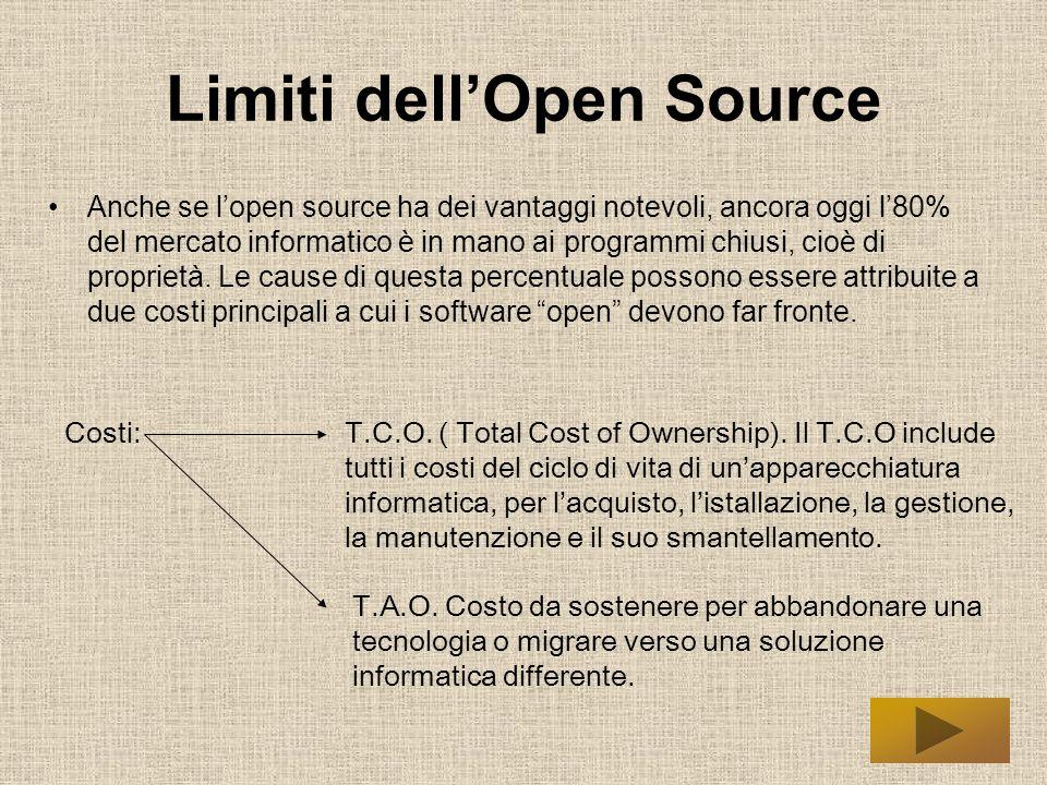 Limiti dellOpen Source nelle Pubbliche Amministrazioni.