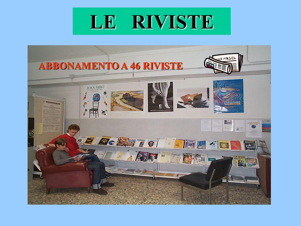 LE RIVISTE ABBONAMENTO A 46 RIVISTE