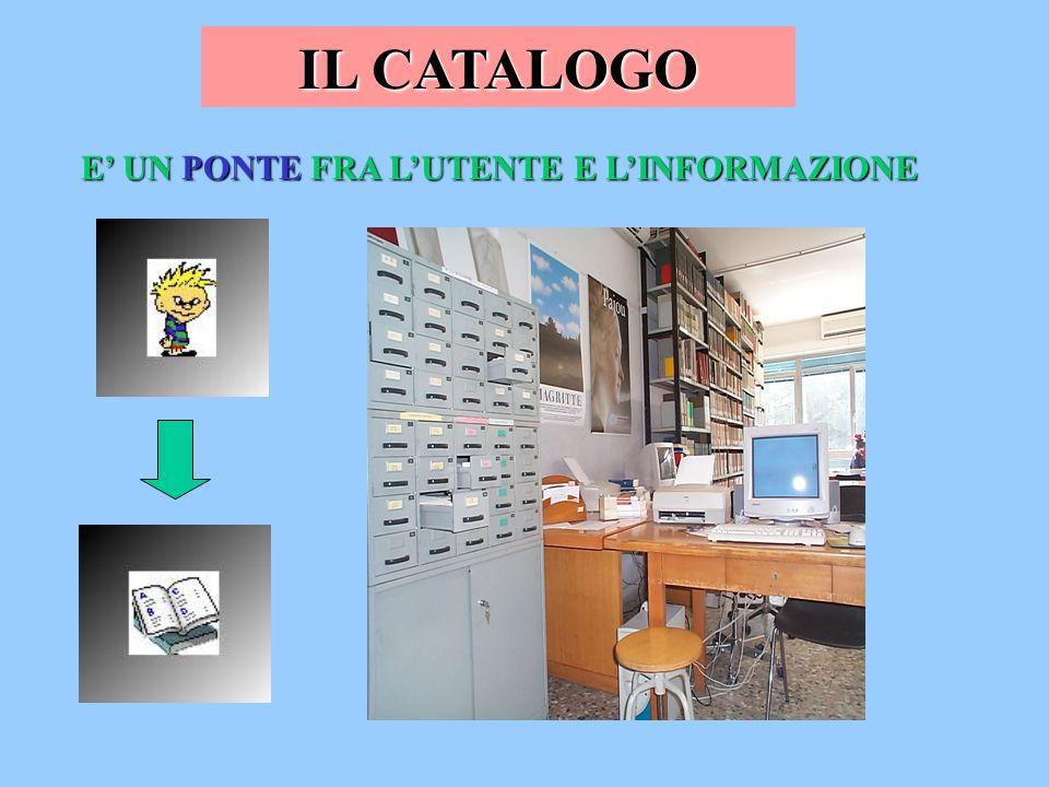 Opere generali CATALOGO SALA CONSULTAZIONE STRUMENTI PER LA RICERCA CATALOGO ELETTRONICO CATALOGO ELETTRONICO INTERNET