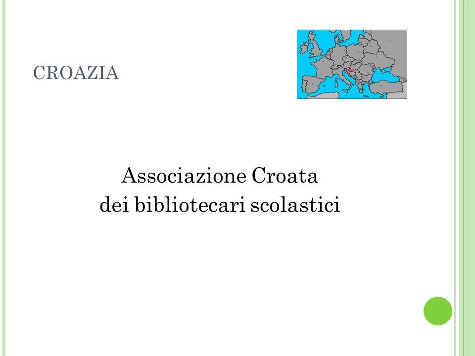 CROAZIA Associazione Croata dei bibliotecari scolastici