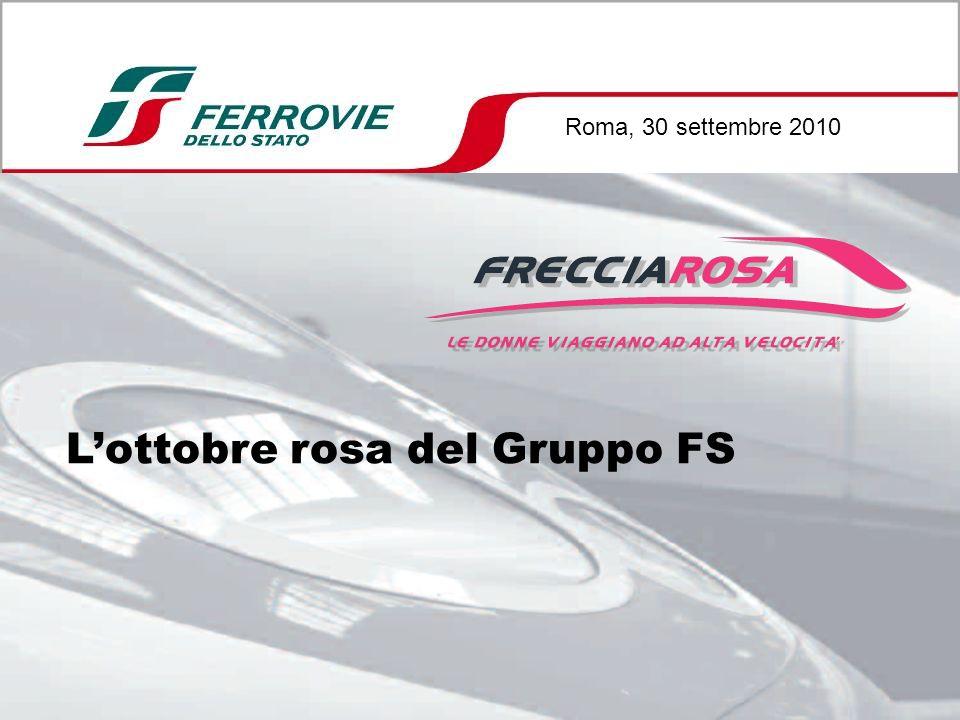 Lottobre rosa del Gruppo FS Roma, 30 settembre 2010