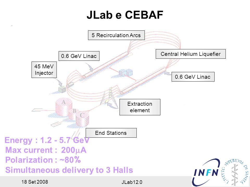 18 Set 2008 JLab12.0 Jefferson Lab
