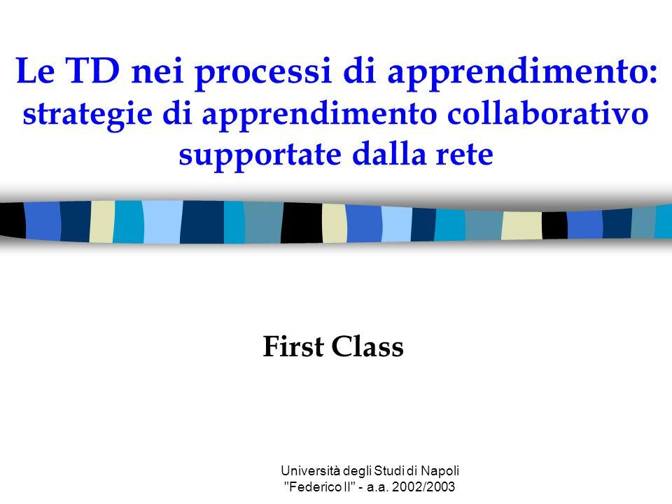 Università degli Studi di Napoli Federico II - a.a.