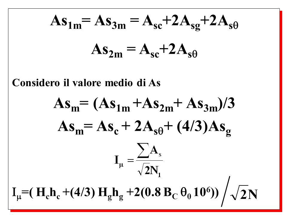 posso anche definire le cadute percentuali di tipo resistivo ed induttivo come: V Rcc %= 100(1.73Z cc I 1 /V 1 )cos cc = 100(1.73R cc I 1 /V 1 ) deve essere compresa tra il 5% per i piccoli e lo 0.5% per i grandi trasformatori.