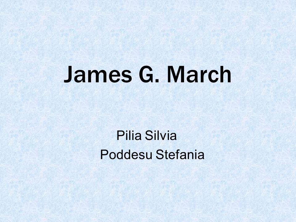 James G. March Pilia Silvia Poddesu Stefania