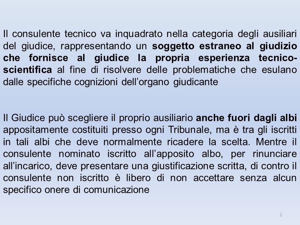 33 Ausiliario del consulente Incarico collegiale Lopera del collaboratore/specialista è fatta propria dal c.t.u.