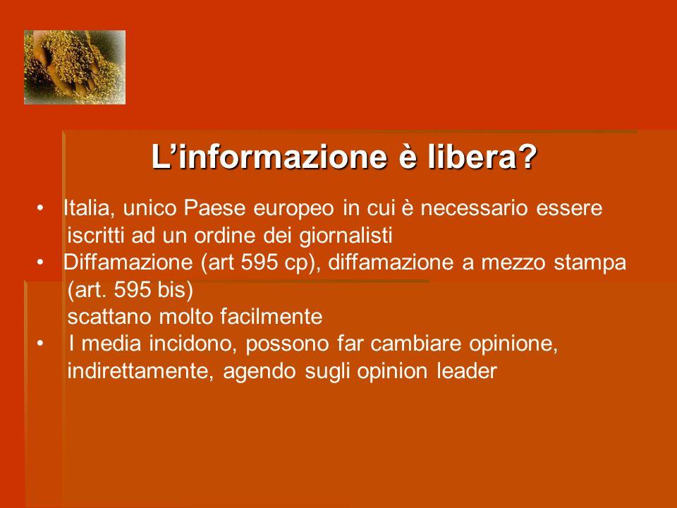 IN ITALIA Nel nostro paese il numero di lettori di giornali è tra i più bassi dEuropa.