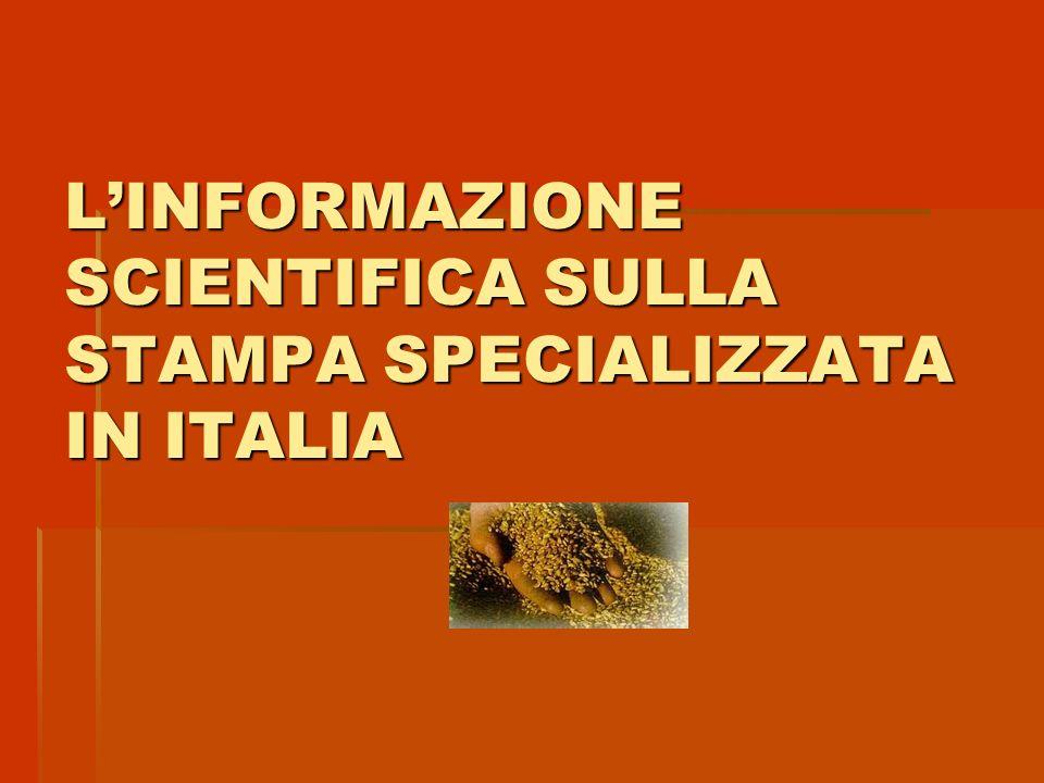 LE SCIENZE Nata nel 1968 grazie ad unintuizione di Alberto Mondadori e Felice Ippoliti.