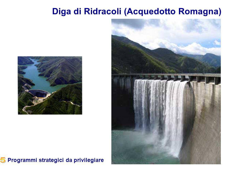 18 Diga di Ridracoli (Acquedotto Romagna) Programmi strategici da privilegiare
