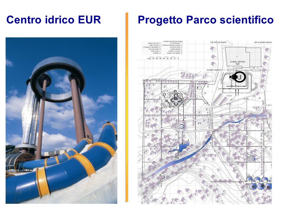 22 Centro idrico EUR Progetto Parco scientifico