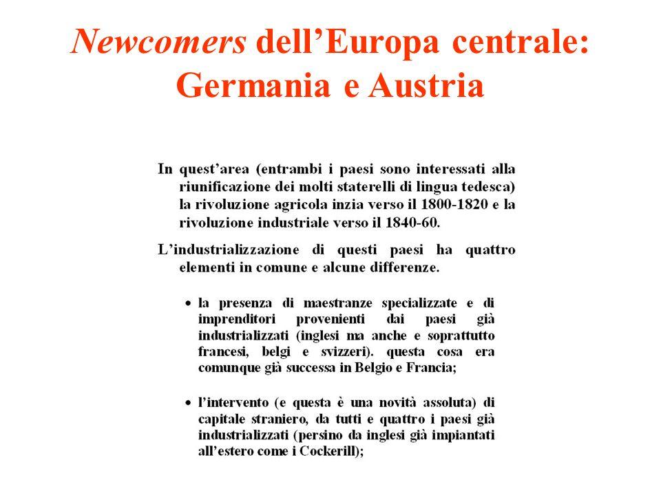 Newcomers dellEuropa centrale: Germania e Austria