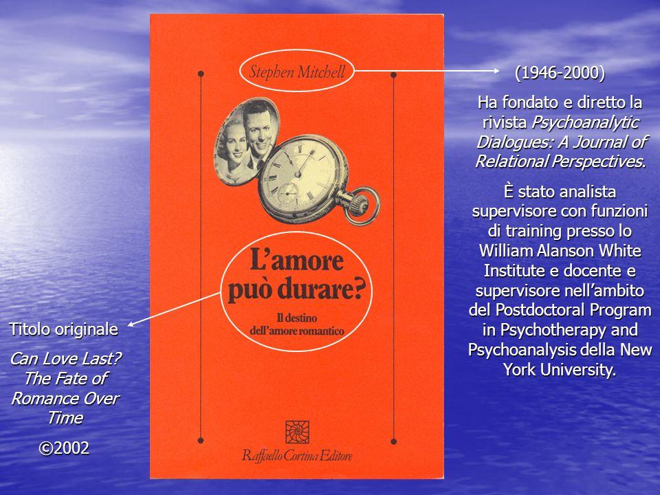 (1946-2000) Ha fondato e diretto la rivista Psychoanalytic Dialogues: A Journal of Relational Perspectives. È stato analista supervisore con funzioni