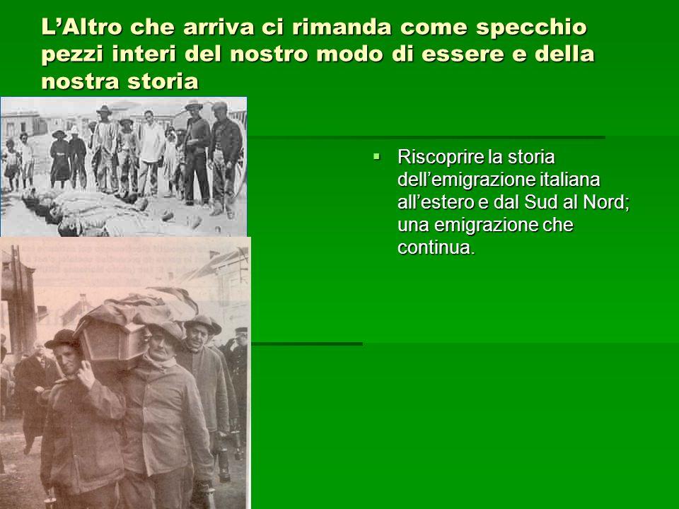 LAltro o gli Altri: chi siamo.Cosa è litalianità degli italiani.