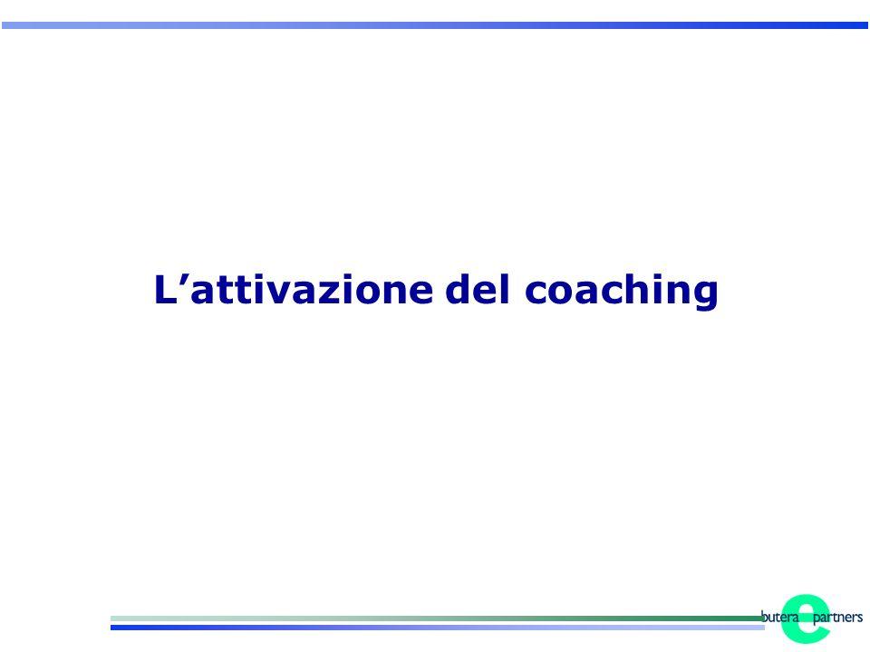 Lattivazione del coaching