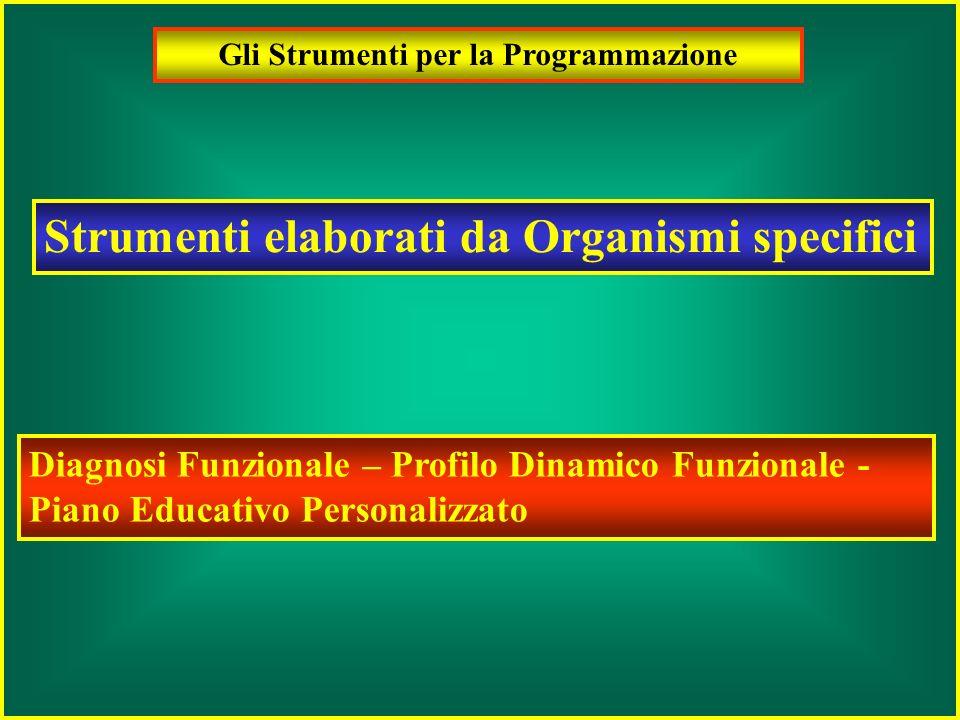 Gli Strumenti per la Programmazione Strumenti elaborati dal Collegio dei Docenti Carta dei servizi Piano dellOfferta Formativa Programmazione Didattic