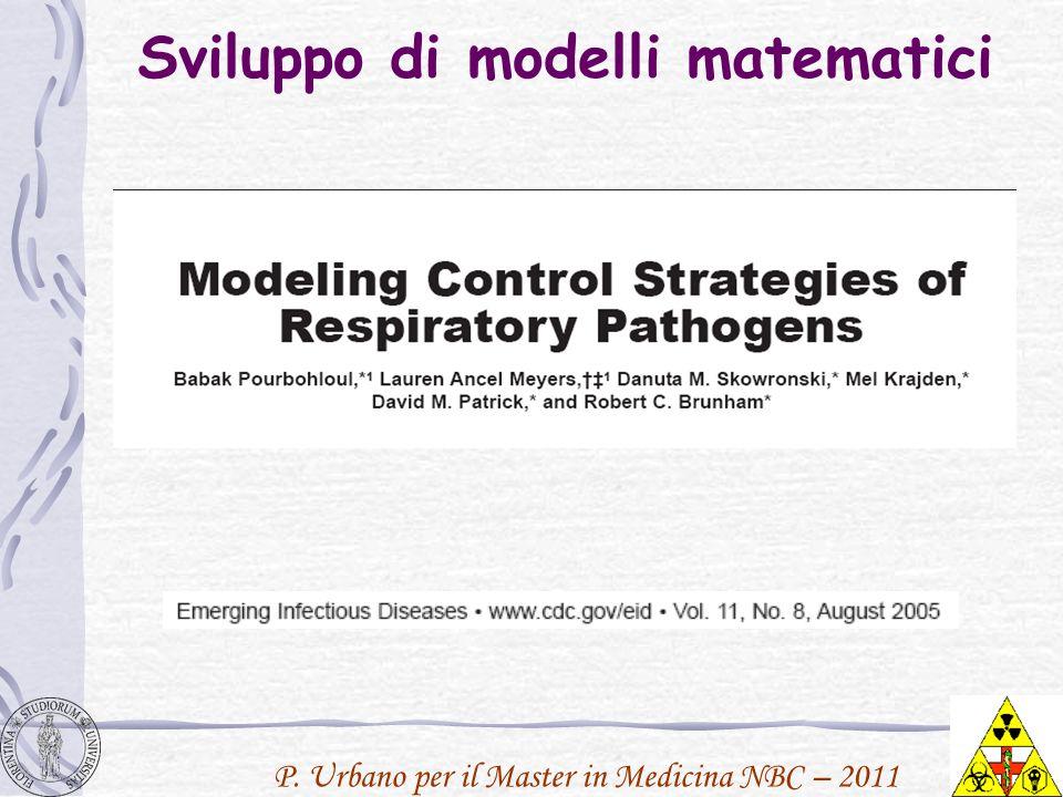 Sviluppo di modelli matematici