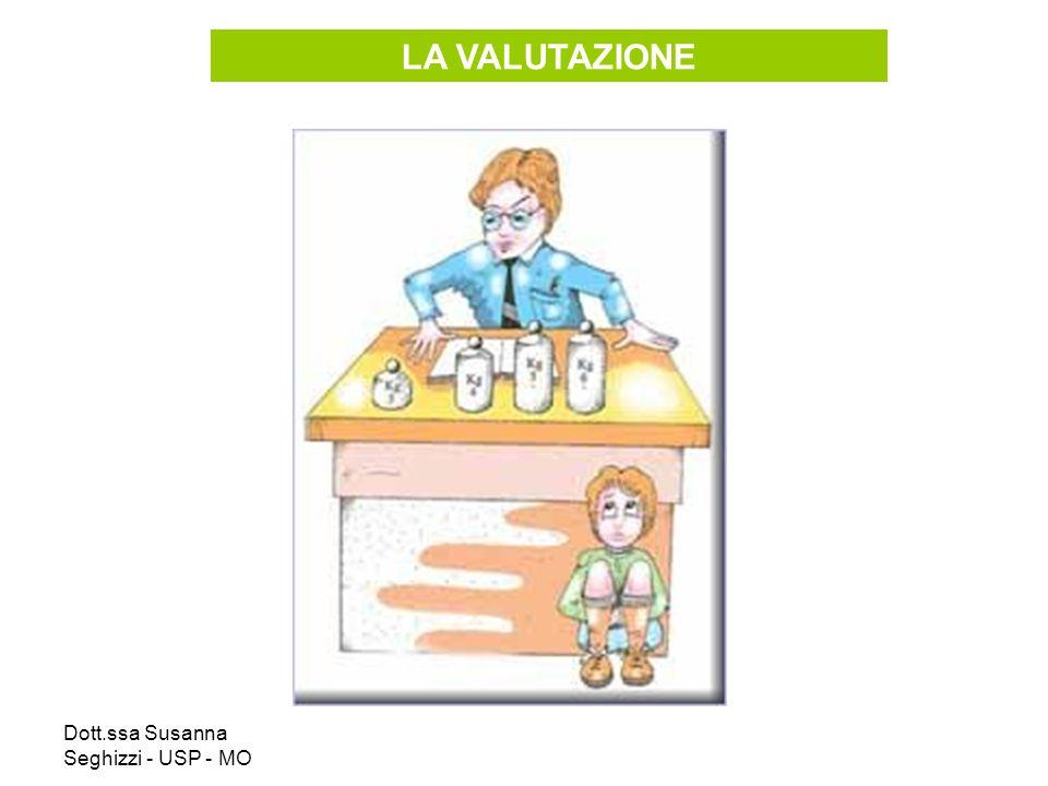 Dott.ssa Susanna Seghizzi - USP - MO LA VALUTAZIONE