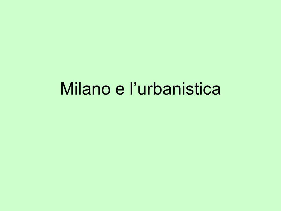 Milano e lurbanistica