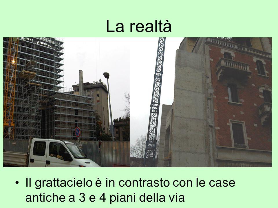 La realtà Ottobre 2010 Ecco limpatto delledificio ecologico sulla via!