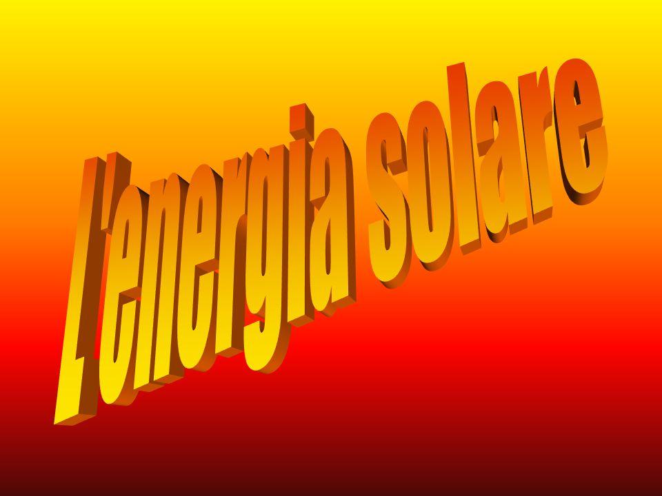 Il termine energia solare sta a indicare uninsieme di tecnologie volte allo sfruttamento dellenergia proveniente dal Sole,sia direttamente (conversione fotovoltaica,riscaldamento solare,riscaldamento passivo,conversione elio-termo-elettrica), sia indirettamente attraverso lenergia eolica e le biomasse.
