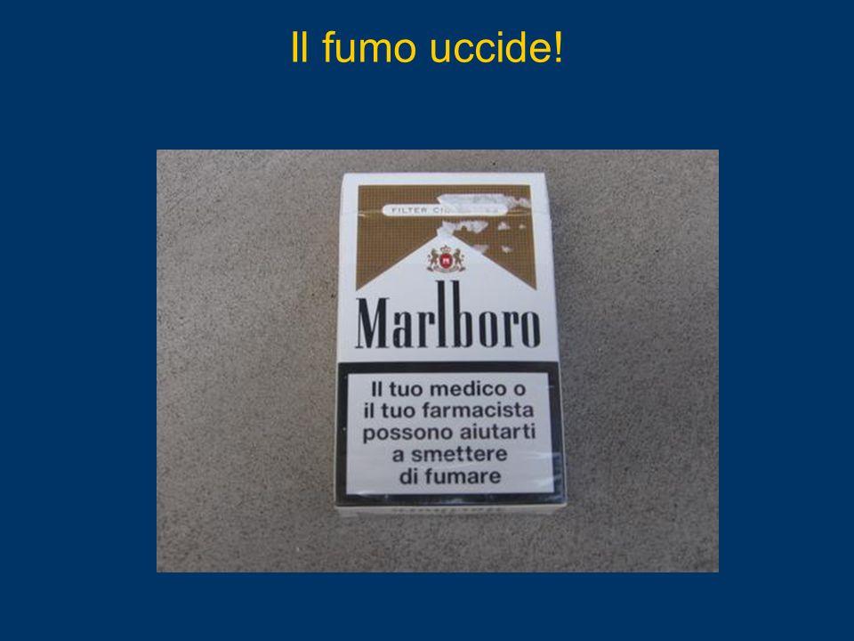 Il fumo uccide!